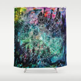 Effort as Offering Part 2 Shower Curtain