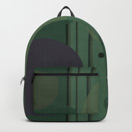 """""""The Girl and the Moon (Pattern 02)"""" Backpack"""