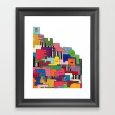 Friendlies Framed Art Print