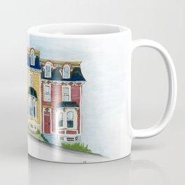 Jellybean Row - Newfoundland houses, buildings Coffee Mug