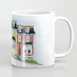 Jellybean Row - Newfoundland houses, buildings Coffee Mug