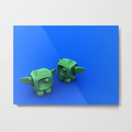 Two 1.0 Metal Print