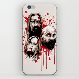 Cleansing of the Wicked iPhone Skin