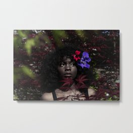 Char in a Bush (Low Saturation) Metal Print