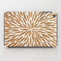 rose gold iPad Cases featuring Rose Gold Burst by Cat Coquillette