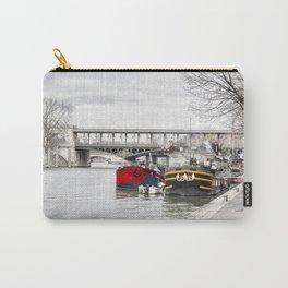 Houseboats near Pont Bir-Hakeim - Paris Carry-All Pouch