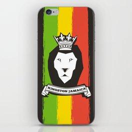 Rasta Lion iPhone Skin