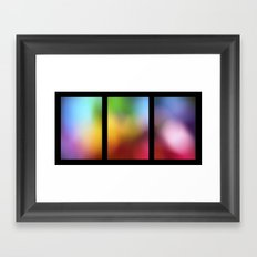 tryptic Framed Art Print