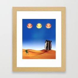 La España de J.Cuerda Framed Art Print