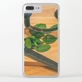 Chopped. Clear iPhone Case