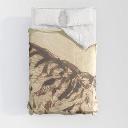 "Eugène Delacroix ""Crouching Tiger"" Comforters"