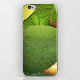 armor leaves iPhone Skin