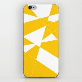 yellow diamond iPhone Skin