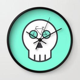 Rider Skull Wall Clock
