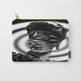 Our Lady of Spiders in Black and White Carry-All Pouch