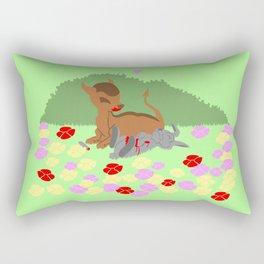 Zombi Rectangular Pillow