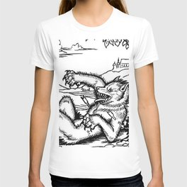 Werewolf Hunting medieval style T-shirt
