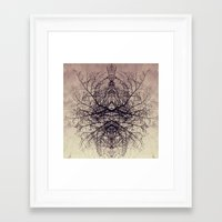 ohm Framed Art Prints featuring ohm by anitaa