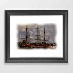 the Tall Ships Framed Art Print