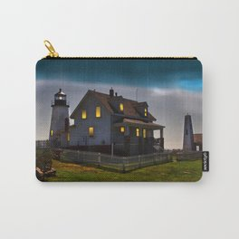 The Lights are on at Pemaquid Carry-All Pouch