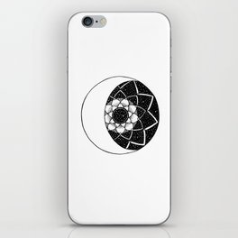 Crescent Moon Mandala iPhone Skin