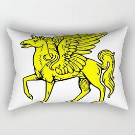 Pegasus shield 1. Rectangular Pillow