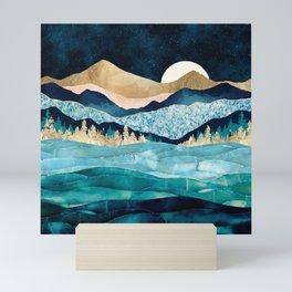Midnight Ocean Mini Art Print