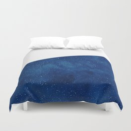 Galactic Blue Duvet Cover