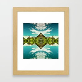 From the world Framed Art Print