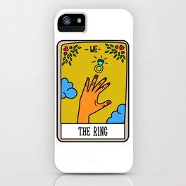 THE RING #Tarot Card iPhone Case