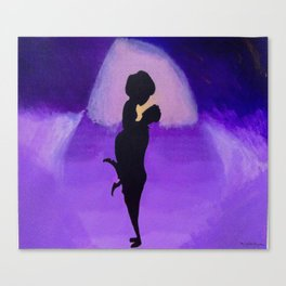 Purple Paradise Canvas Print