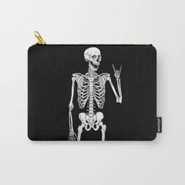 Rock Star Skeleton Carry-All Pouch