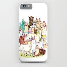 Wild family series - Llama Party Slim Case iPhone 6s