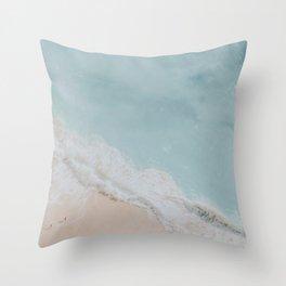 seashore viii Throw Pillow
