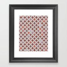 Circl. Framed Art Print