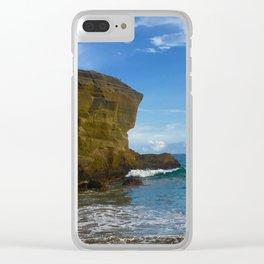 big island vibes Clear iPhone Case