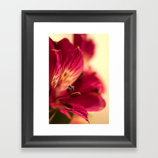 {lily the pink} Framed Art Print