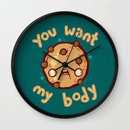 Kinky Cookie Wall Clock