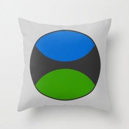 TSSC Circle Logo Throw Pillow
