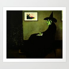Wizzler's Mother  |  Wicked Witch Art Print