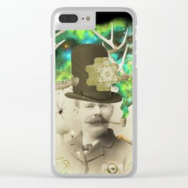 Odd Boxer Clear iPhone Case