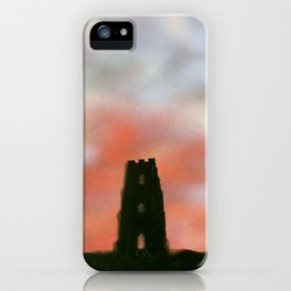 Sunset Over the Tor iPhone Case