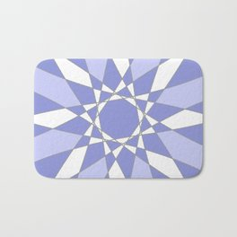 Blue Crystal Bath Mat
