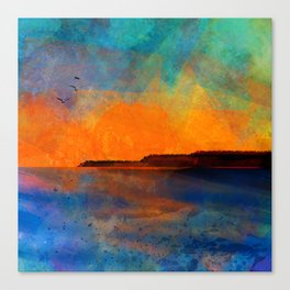 Ocean sunset 2020 Canvas Print