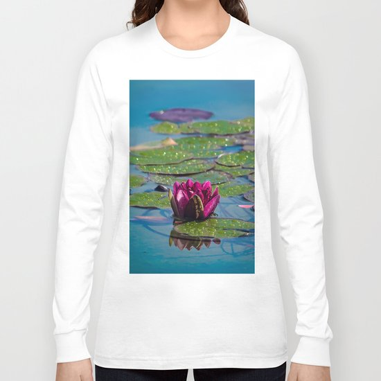 Two water lilies Long Sleeve T-shirt