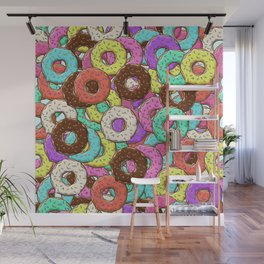 so many donuts Wall Mural