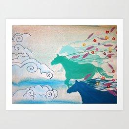 Cinder & Smoke Art Print