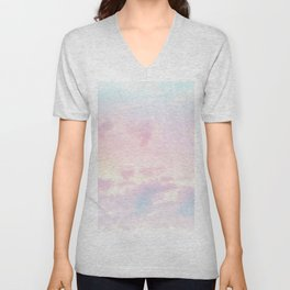 Unicorn Pastel Clouds #2 #decor #art #society6 Unisex V-Neck