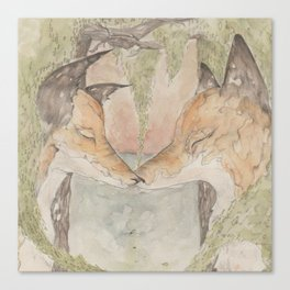 Fox [[ 3 ]] Canvas Print