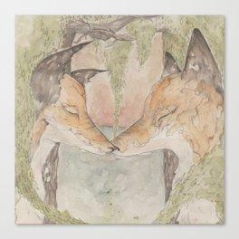 Fox [[ 3 ]] Canvas Print